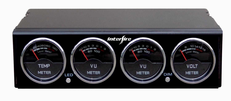 Настройки компонента: расширенный - внешний вид - аналоговый индикатор уровня звука